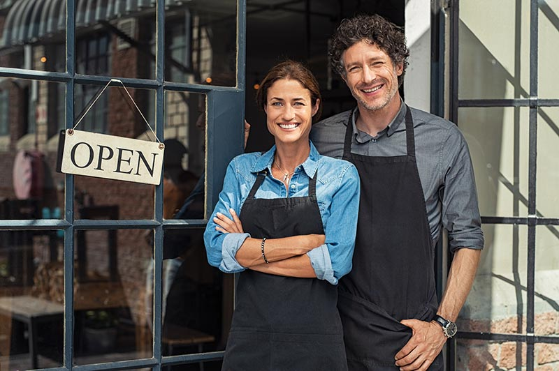 small business open and insured